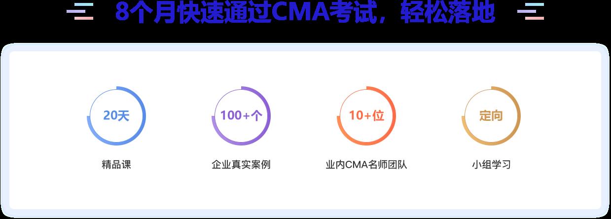 8个月快速通过CMA考试,轻松落地